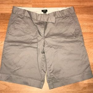 "J crew ""city fit"" Bermuda length short"